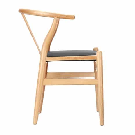 Ghế Wishbone gỗ sồi nga