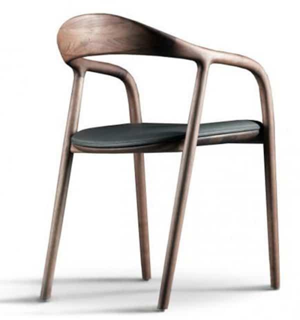 Ghế ăn gỗ có tay Neva