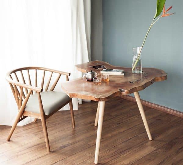 Ghế ăn gỗ sồi nga Genny