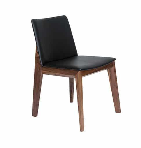 Ghế ăn Kudo gỗ màu đen