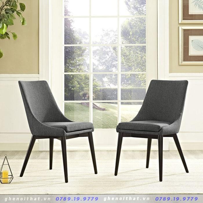 Carlton Wood Chair bằng gỗ kết hợp nệm vải