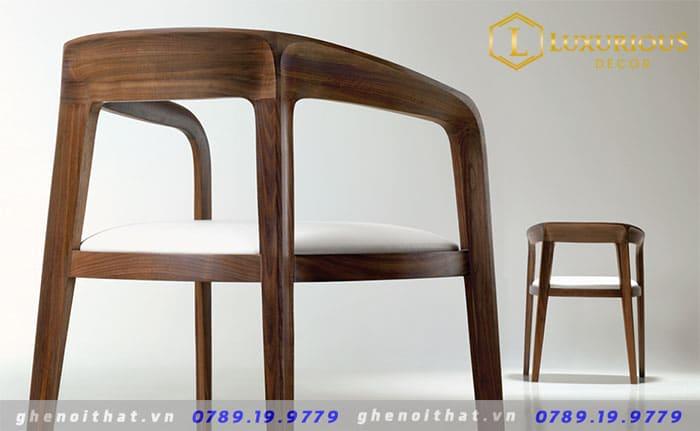 Mẫu ghế ăn corvo gỗ tự nhiên