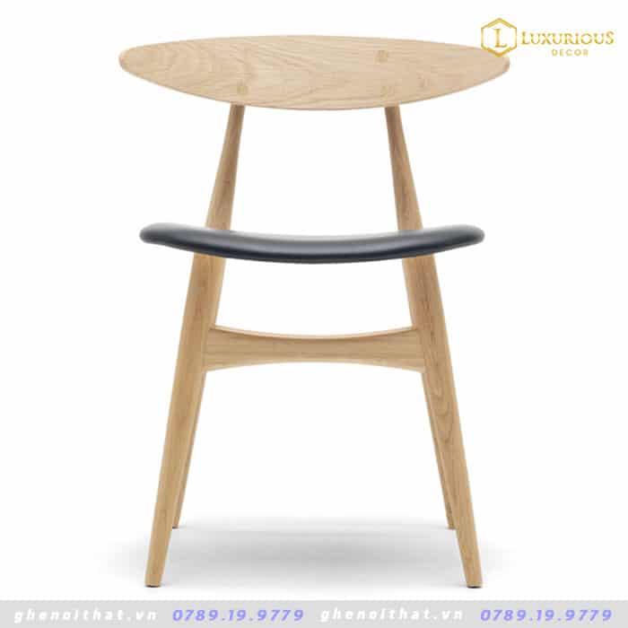 Ghế Lunar gỗ sồi