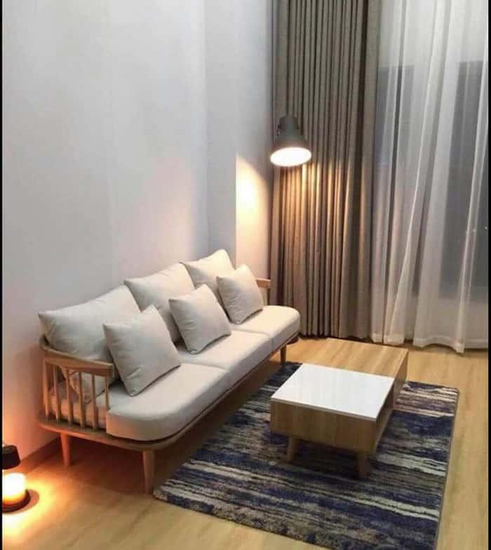Bộ Ghế Sofa Trong Phòng Khách Mang Phong Cách Vintage