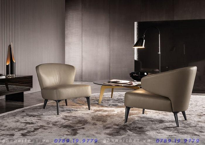 Ghế Minotti armchair loại có tay và không tay tại Luxurious Decor
