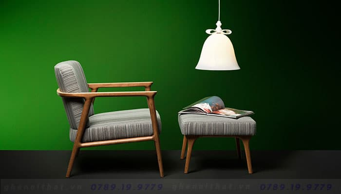 Zio Armchair là loại ghế phòng ngủ bán chạy nhất tại Luxurious Decor