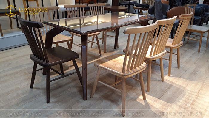 Bộ bàn ghế ăn Pinstol