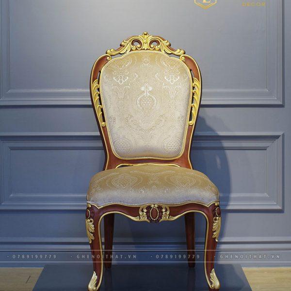 Ghế French bọc nỉ gấm