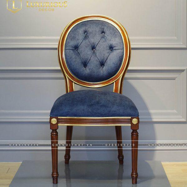 Ghế Louis gỗ Sồi tự nhiên