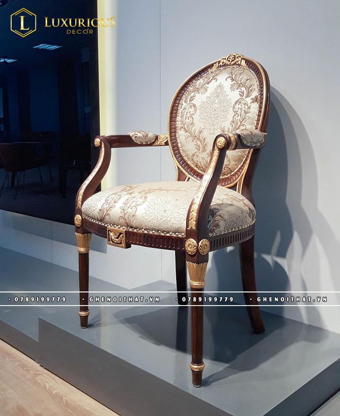 Ghế Louis XVI mạ vàng