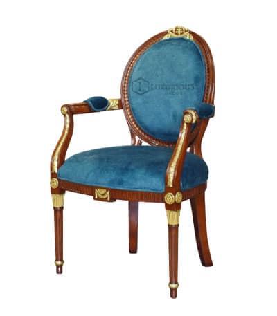 Ghế Louis XV có tay