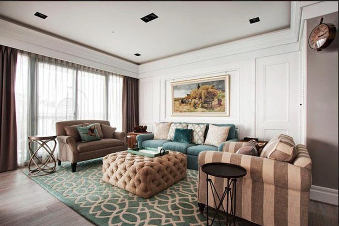 Mẫu bàn ghế Sofa phòng khách hiện đại