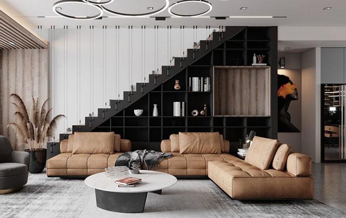 Nội thất phòng khách cho nhà hiện đại