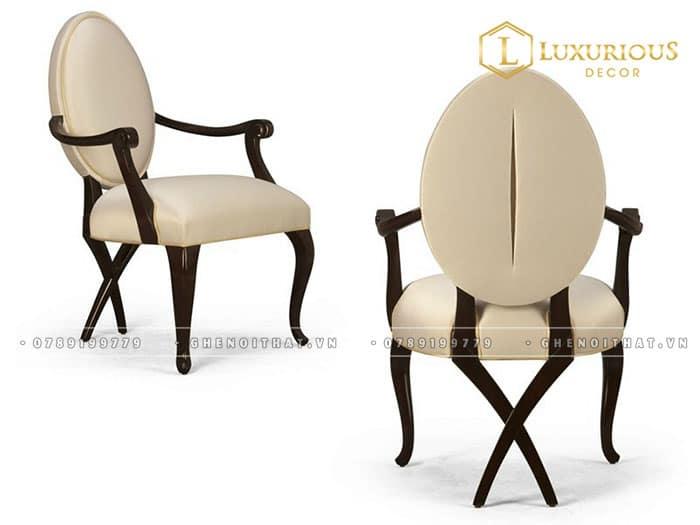 Ghế Ovale dining chair (có tay) giá 5,200,000 ₫
