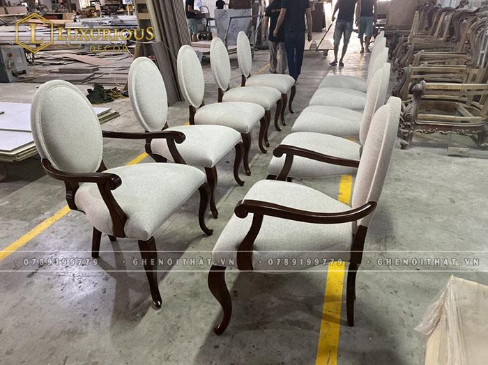 Sản xuất ghế ăn tân cổ điển