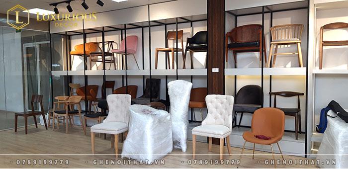 Các mẫu ghế phong cách hiện đại
