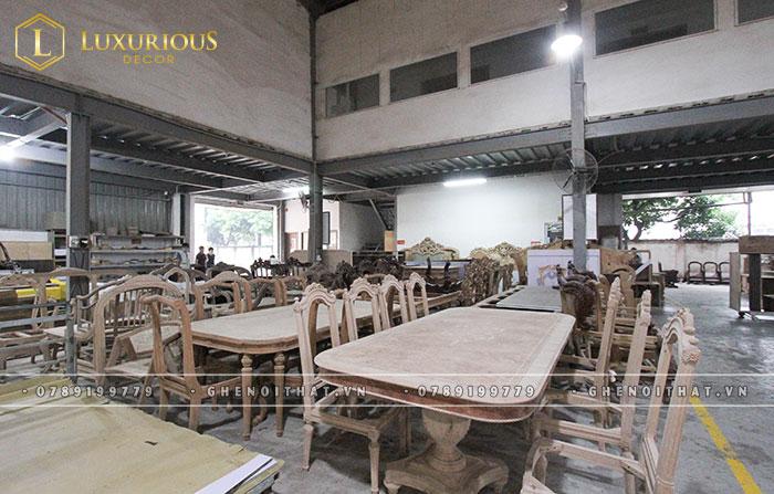 Xưởng sản xuất bàn ghế nội thất lớn nhất Hà Nội