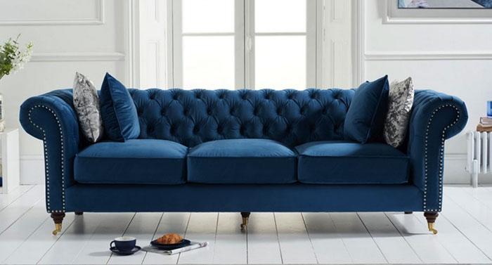 Ghế Sofa 3 Chỗ Phong Cách Tân Cổ Điển