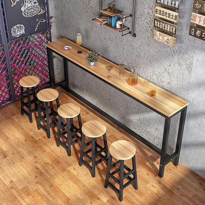 Mẫu Bàn Dài Cho Quán Cafe