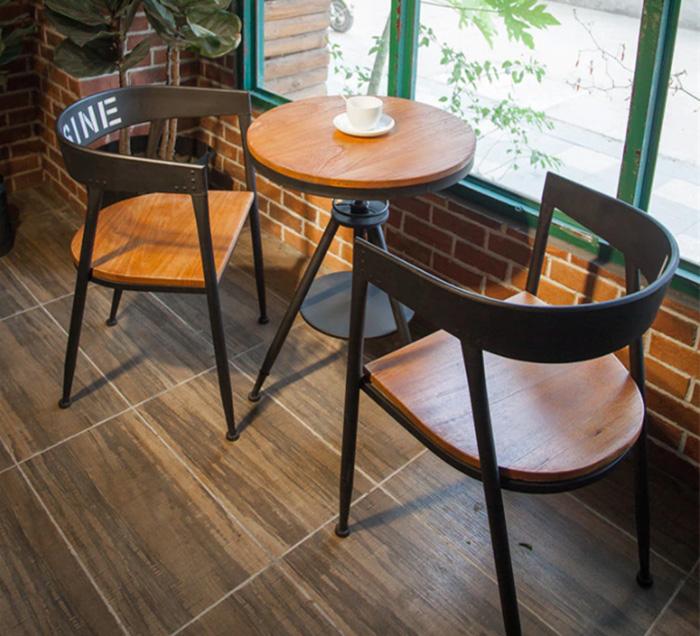 Bộ Bàn Ghế Cafe Trong Quán Coffee